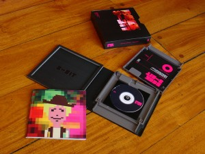 , CD Packaging: Beck and 8-Bit