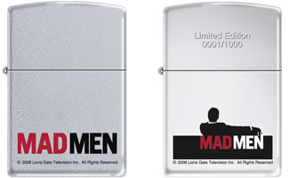 mad men dvd package