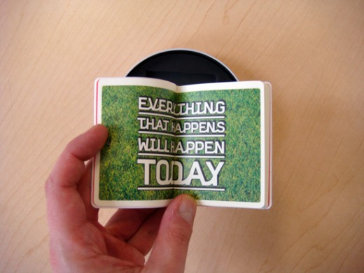 CD packaging, CD Packaging: Byrne & Eno's Everything That Happens Will Happen Today