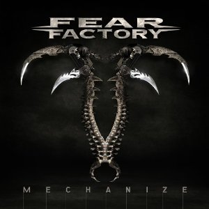 fear factory mechanize cd artwork