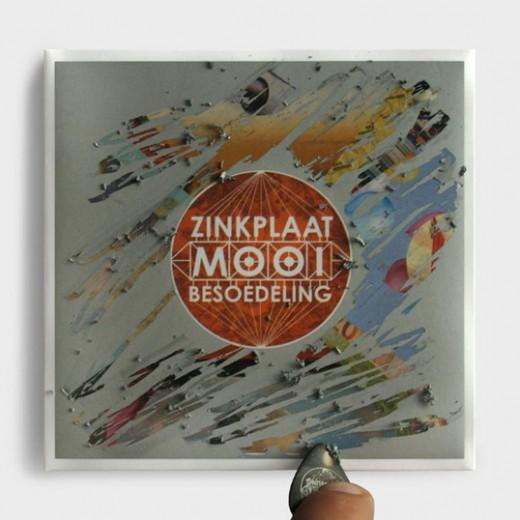 CD Packaging, CD Packaging: Zinkplaat's Mooi Besoedeling