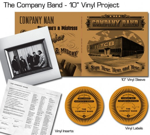 the company band record sleeve