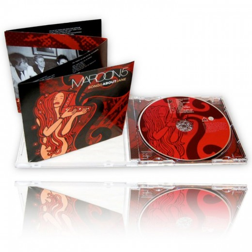 Maroon 5 CD artwork