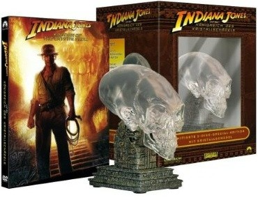 Indiana Jones DVD packaging