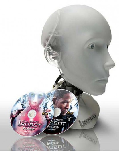 iRobot special DVD packaging set