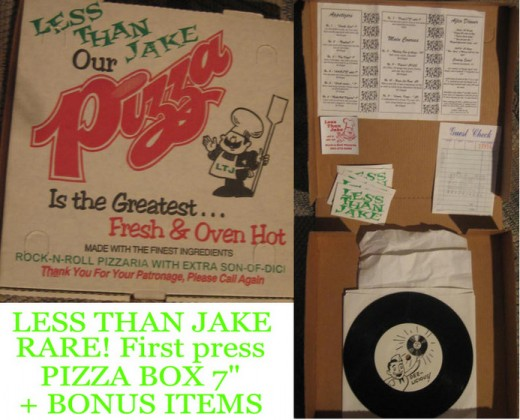 pizza box music package