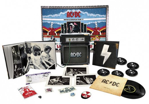 AC/DC music packaging