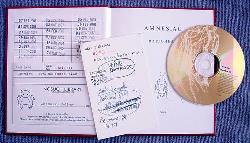 CD packaging, CD Packaging of the Week:Amnesiac- Radiohead