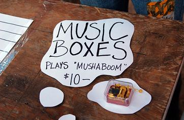 music box merchandise
