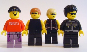 U2 Lego collection