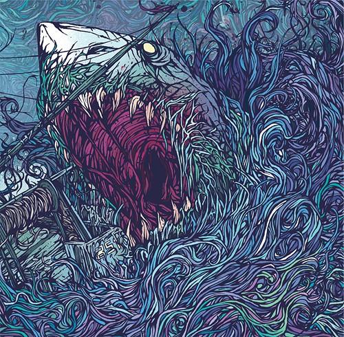 CD packaging, Creative CD packaging, Album Art, Shark album art, Creative album art, Spinal tap shark sandwich, Shark Tale, Music Packaging: Shark,Shark, Shark!