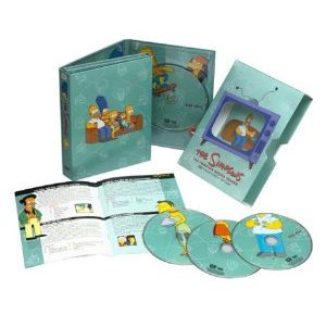 DVD Packaging Simpsons 3