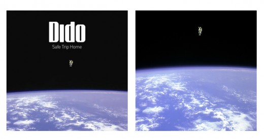 album cover, Music News: Dido Sued by Astronaut Album Cover Star