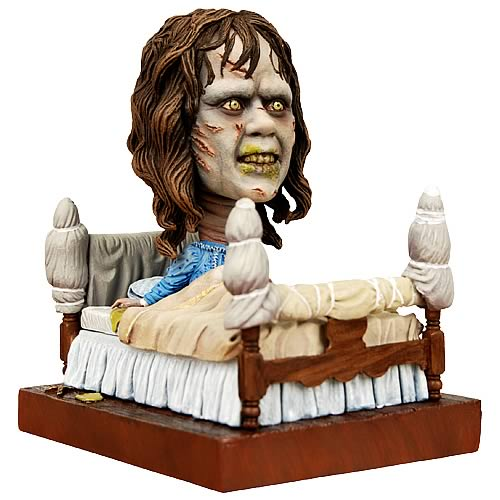 Movie merch, exorcist, horror, gore, Movie Merch: Creepy Exorcist Action Figures