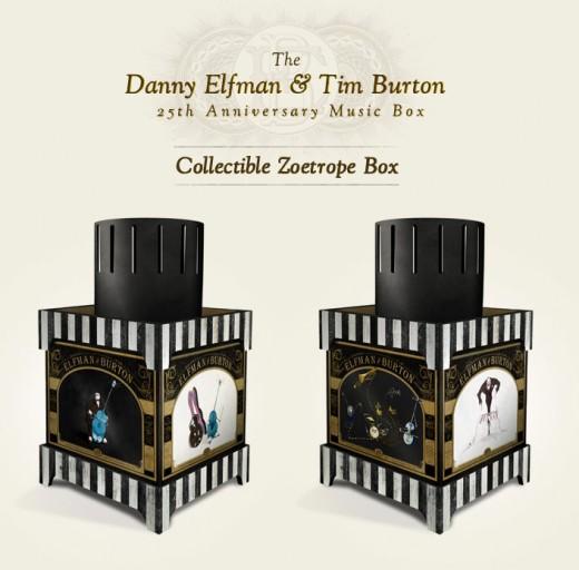 DVD packaging, DVD Packaging: Danny Elfman & Tim Burton 25th Anniversary Box Set