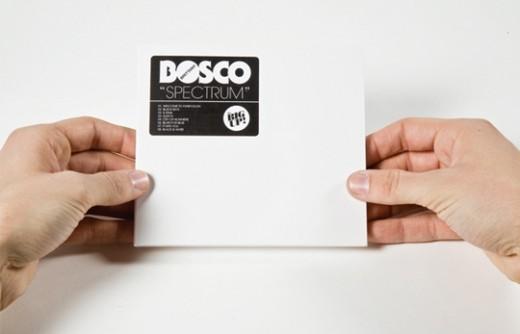 CD packaging, bosco, cd package, spectrum, foil wrap, CD Packaging of the Week: Bosco-Spectrum