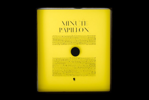 CD package, CD Packaging: Minute Papillon- Second Language
