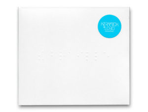 CD Package design: Keramick and Lobo- The Braille