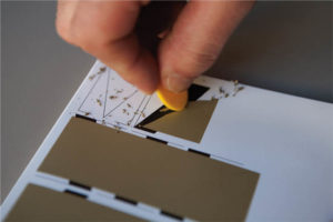 CD Packaging Concept: MVSICA scratch off