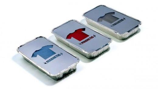 metallic t-shirt packaging