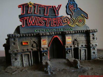DVD Packaging: From Dusk Till Dawn Trilogy Titty Twister