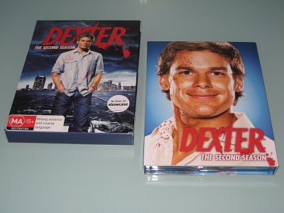dexter DVD case tin
