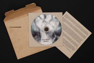 CD Package design Free Kitten – Inherit