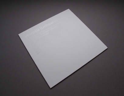 vinyl Packaging: Warp 20 Box Set white