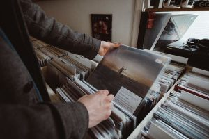 vinyl record tactile experience