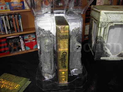 DVD Packaging Lord of the Rings