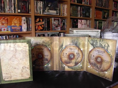 DVD Packaging LOTR digipak