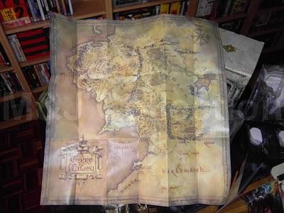 DVD Packaging LOTR map
