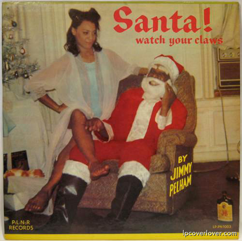 Album Covers Santa LP Cover