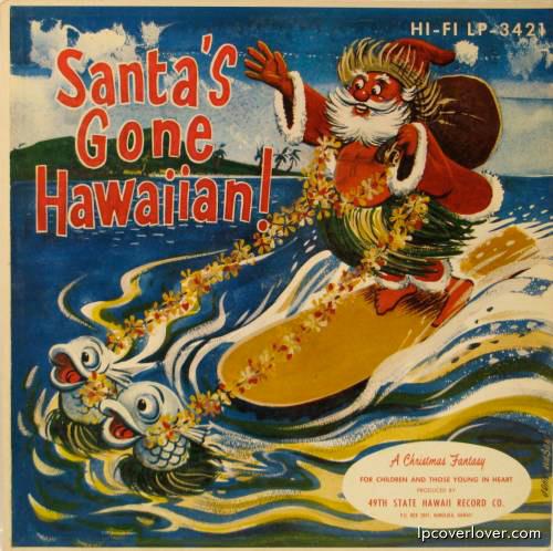 Album Covers Santa Vinyl