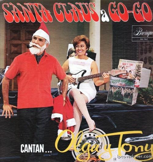 Album Covers Santa Claus a Go-go