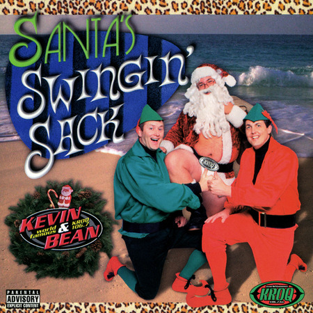 Album Covers Santa Swinging Sack