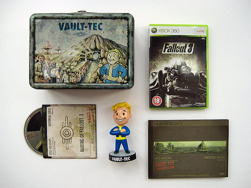 Video Games Packaging Fallout 3