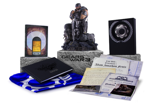 Video Games Packaging Gears of War 3