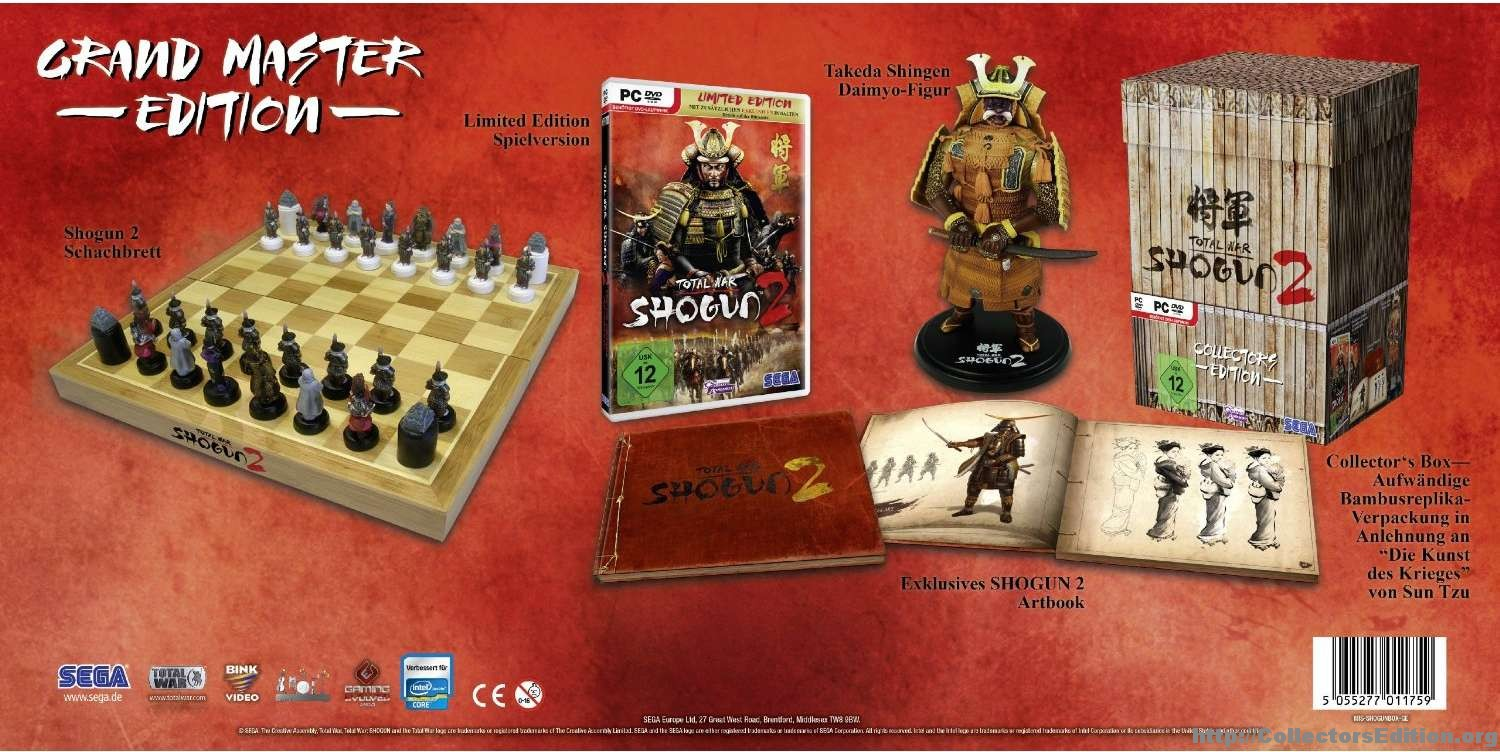 Video Games Packaging Shogun