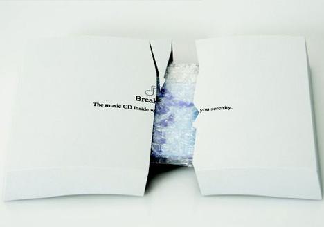 Unique CD Packaging Break It