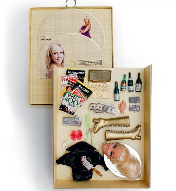 DVD packaging, DVD Packaging: Real Housewives Doll Accessories