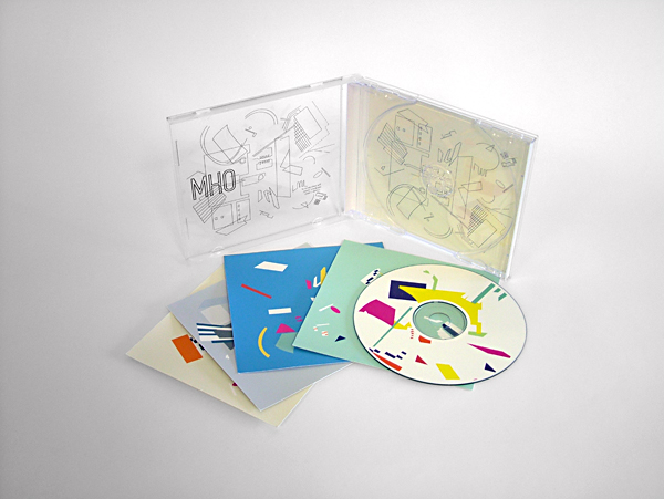 CD Packaging: OHM Electronic Music CD case