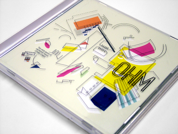 CD Packaging: OHM Electronic Music design