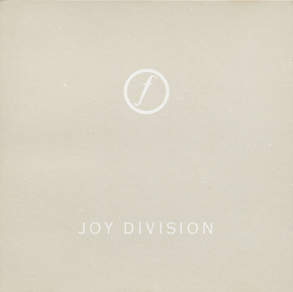 Minimalist Music packaging joy division