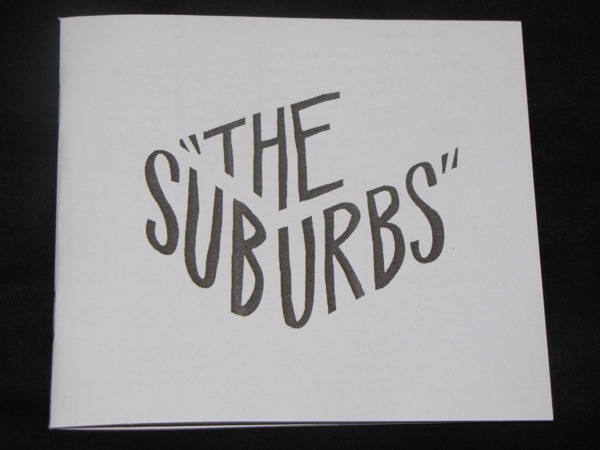 the suburbs cd packaging