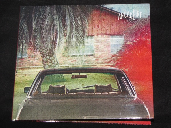 Arcade Fire- Suburbs grammy packaging