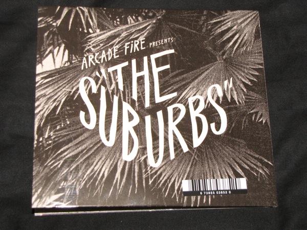Arcade Fire- Suburbs vinyl sleeve
