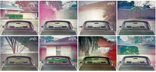 Arcade Fire- Suburbs artwork