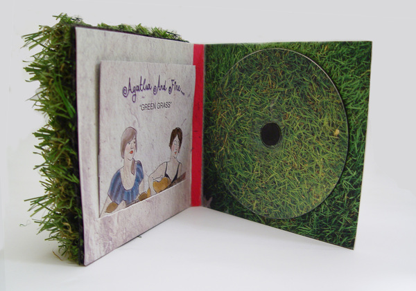 agatha and fine CD packaging 3