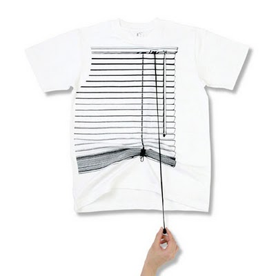 window blinds t-shirt design